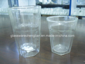 High Borosilicate Double Wall Glass Mug (SDC14419) pictures & photos