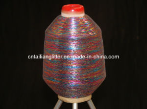 30d*2 Polyester X Type for Weaving (Multy Color) Metallic Yarn pictures & photos