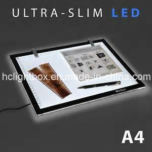 Wall Mounted Indoor Magnetic Slim Light Box with Acrylic