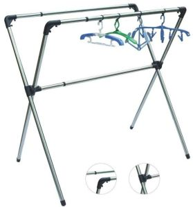 China X Style Metal Folding Clothes Horseclothes Drying Rack