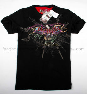 Fashion T-Shirt with Full Printing (FPT-12006)