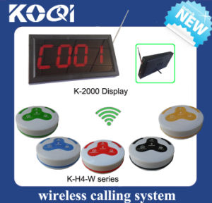 Digital Restaurant Table Calling System Button with Receptor pictures & photos