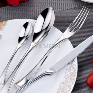 Top End Hotel Restaurant 18/10 Stainless Steel Luxury Tableware Dinnerware Sets Cutlery Flatware pictures & photos