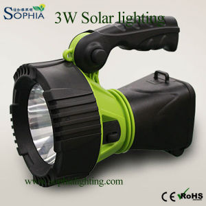 Rechargeable Solar Light, Solar Lamp, Solar Kit, Portable Light, LED Flashlight,
