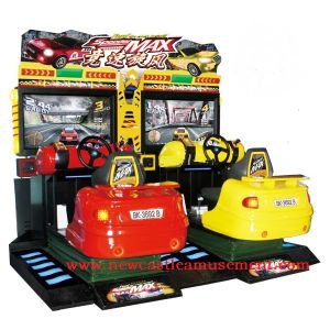 "Full-Motion out Racing Arcade 42"" Speed Whirlwind Motion Vehicle Arcade Game"