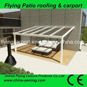 2X3m Balcony /Terracecanopy, Aluminum Patio Cover, Plastic Roofpergola,  Outdoor Metal Gazebo