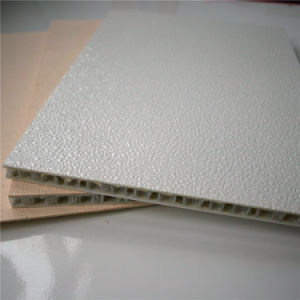 Embossed FRP Skin with PP Honeycomb Core Sandwich Panel pictures & photos