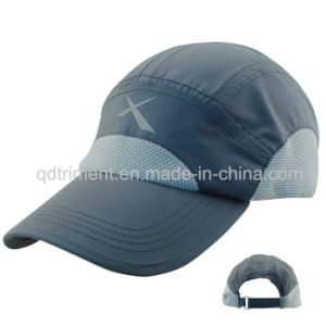 Polyester Peach Skin Microfiber Breathable Sport Racing Cap (TMR0546) pictures & photos