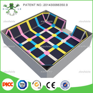 Xiaofeixia Bounce Wall-to-Wall Indoor Trampoline Courts pictures & photos