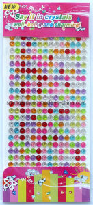 Multicolor Flower Gem Borders/Rhinestone Sticker/Acrylic Border pictures & photos