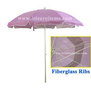 Beach Umbrella with Light Purple Color (OCT-BUANF03) pictures & photos