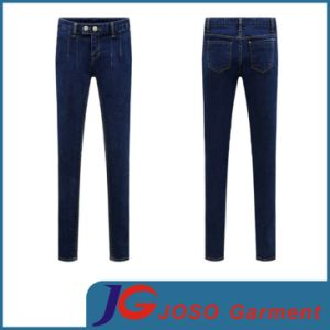 Factory Wholesale Sexy Girl Pant Denim Trousers (JC1318) pictures & photos