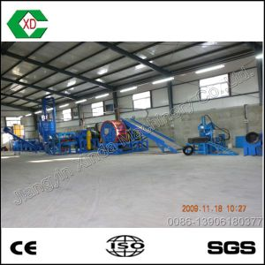 Automatic Scrap Rubber Tires Recycling Plant pictures & photos