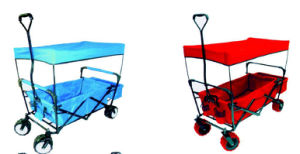 Manufacturers Sell Outdoor Ice Bag Portable Cart Can Rest Folding Multi-Function Shopping Cart to Buy Food