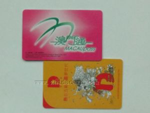 Eco-Friendly Degradable Plastic Pre-Printed Cards