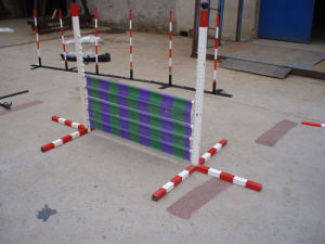 Agility Dog Training One Hurdle Race With Adjustable Function (GW-DT08) pictures & photos
