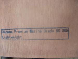 BS1088 Marine Grade Plywood pictures & photos
