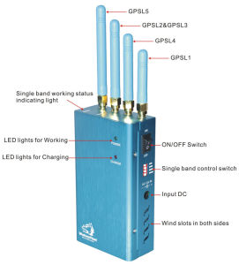 High Power GPS Portable Jammer pictures & photos