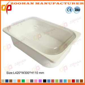 China Portable Plastic Food Display Box Storage Container with Cover