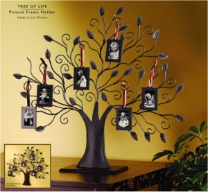 Metal Spinning Photo Frame- Tree Style 02