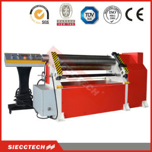 W11f Seriers 3 Roller Asymmetrical Mechanical Bending Roll Machine pictures & photos