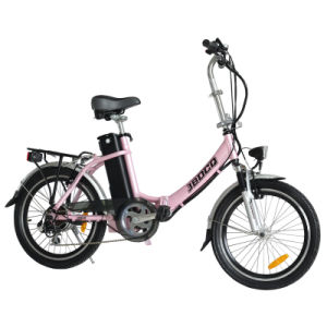 Elegant 20 Inch Lithium Battery Folding Electric Lady Bike (JB-TDN02Z) pictures & photos