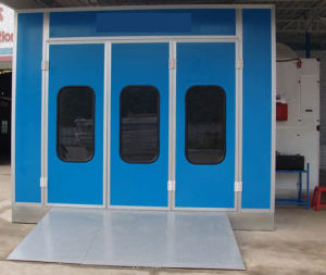Luxury Auto Spray Booth Paint Booth with Turbo Fan pictures & photos