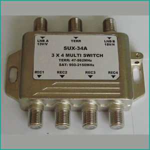 3x4 Satellite Multi Switch, Diseqc Switch pictures & photos