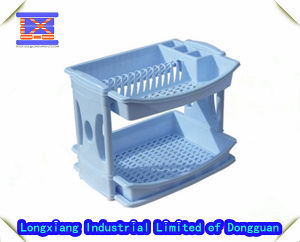 Household Plastic Product Manufacturer for Plastic Dish Drainer (2 shelves) pictures & photos