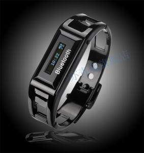 Stainless Steel Bluetooth Handsfree Bracelet Watch, Smart Watch