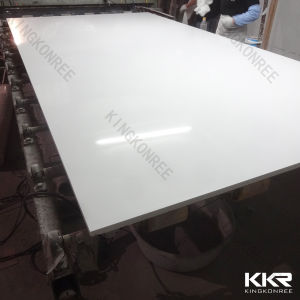 2017 Pure White Artificial Engineered Quartz Stone Slabs pictures & photos