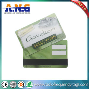 Cmyk Printing Barcode PVC Plastic Cards Cr80 Standard Size for Loyalty Card pictures & photos
