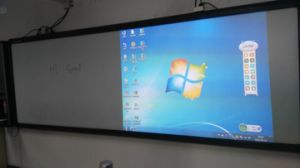 "135"" Interactive Electronic Blackboard, Full Touch, Double Projector pictures & photos"
