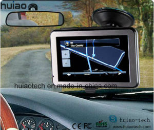 Hot 5.0 Inch HD Car Portable GPS Navigation with ISDB-T TV Bluetooth Tmc Receiver pictures & photos