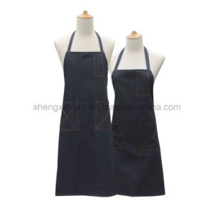 High Quality Jean Apron with Custom Logo