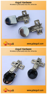 Slide-on Glass Hinge (One -Way) Cabinet Hinge, One Way Hinge pictures & photos