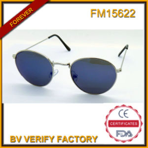 FM15622 Hot Sale High Fashion Vogue Round Sunglasses for Female pictures & photos