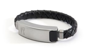 Data Sync Cord Fashion Leather Bracelet