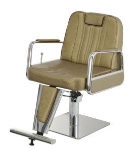 china beauty salon portable old school barber chair with reclining