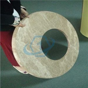 Round Shaped Stone Honeycomb Panels for Washroom pictures & photos