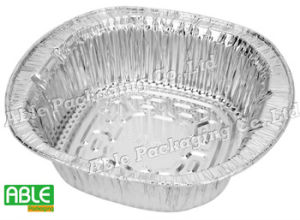 1000 Ml Disposable Noodle Bowl Aluminum Deep Bowl