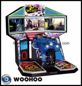 Indoor Playground Motorcycle Racing Car Simulator Coin Operated Machine