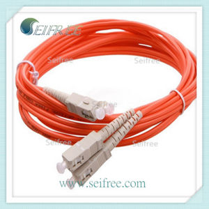 Om2 Optical Fiber Optic Patchcord (sc connector) pictures & photos