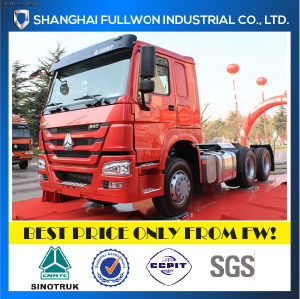 E-Shop Specifical Price 2015 New Face 6X4 HOWO Trailer Head 336HP pictures & photos