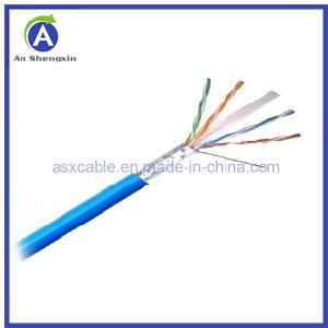 Hot Sell Network Cable/LAN Cable FTP Cat 6 with High Performance (305m/box)