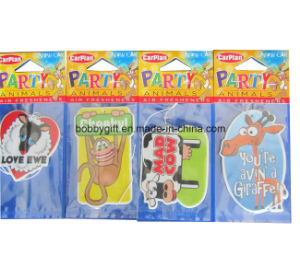 Cute Cartoon Design Paper Car Air Freshener for Sales pictures & photos