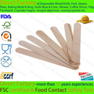 "6"" 150X18X1.6mm Adult Tongue Depressors Wood"
