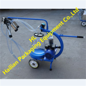 Transparent Milk Bucket Dry Type Pump Milking Machine pictures & photos
