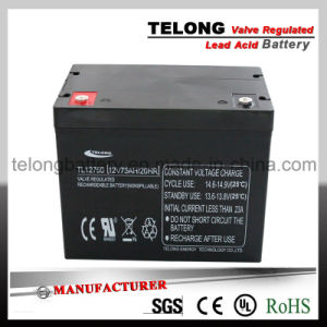 Lead Acid Solar Power Battery (12V75AH) pictures & photos