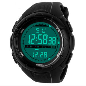 Fashionable Men Multi-Functional Waterproof LED Sports Watch pictures & photos